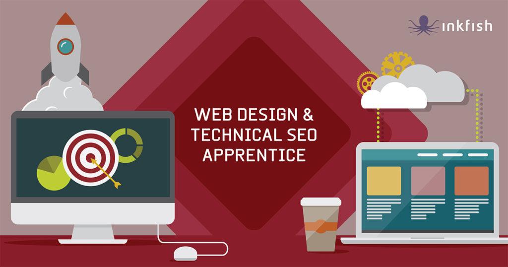 INKFISH web design technical seo apprentice
